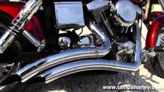 10. Used 1998 Harley-Davidson FXDWG Dyna Wide Glide with Vance & Hines Exhaust