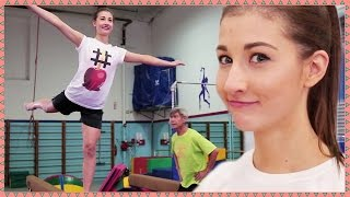 MAYBABY BECOMES A GYMNAST - Hey Guys, It's Meg!
