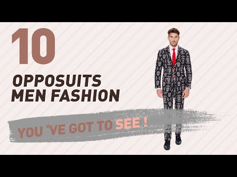 Opposuits Men Fashion Best Sellers // UK New & Popular 2017