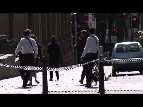 Hostages in Sydney.