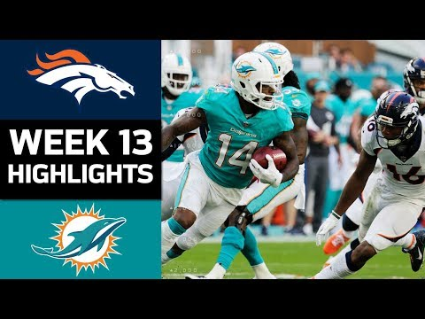 Video: Broncos vs. Dolphins | NFL Week 13 Game Highlights