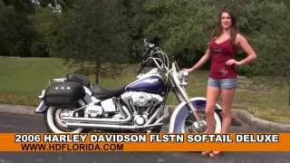 1. Used 2006 Harley Davidson Softail Deluxe Motorcycles for sale