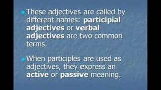 ing ed adjectives, Common Mistakes in English Lesson 5a