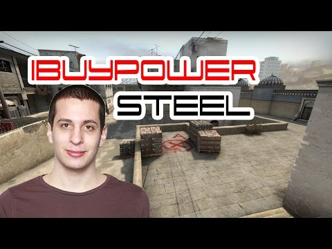 IBUYPOWER -steel- играет esea @dust2 CS:GO