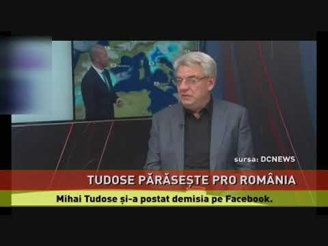 Mihai Tudose a demisionat din Pro România