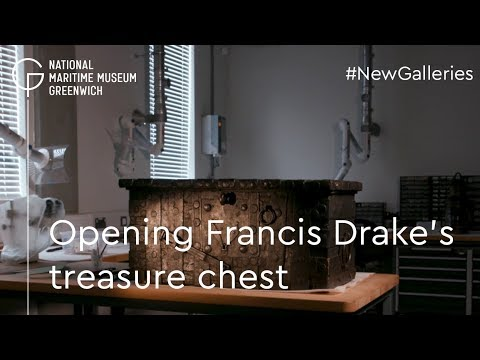 Opening Francis Drake's treasure chest