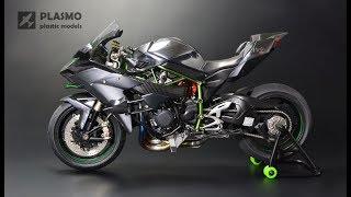 Video Kawasaki Ninja H2R - Tamiya 1/12 - Motorcycle Model MP3, 3GP, MP4, WEBM, AVI, FLV September 2019