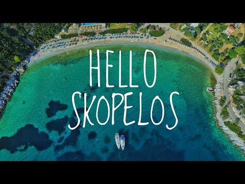 Hello Skopelos | STUNNING GREEN ISLAND IN GREECE