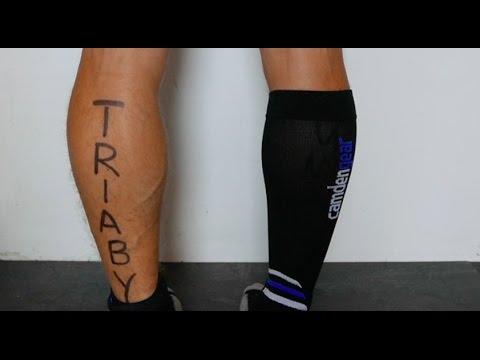 TRIABY #18 -Triathlon mit Kompressionsstulpen? JA!- Mehr Spaß im Triathlon durch weniger Krämpfe!