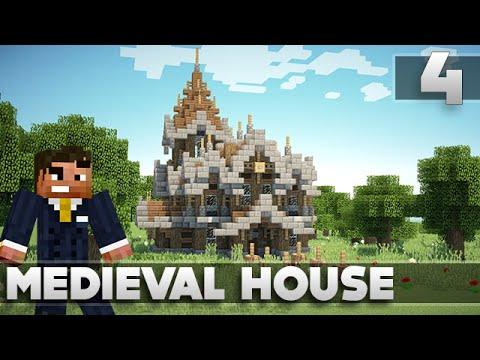 Minecraft Tutorials – Small Survival Medieval House Ep. 4 XBOX 360/PS3/PE/PC