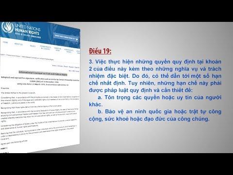 Cảnh giác với những thủ đoạn xuyên tạc quyền tự do ngôn luận, tự do báo chí ở Việt Nam