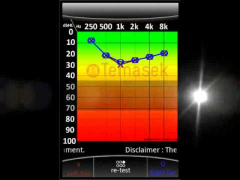 Video of Hearing Test