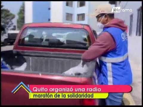 Quito organizó un radio maratón de la solidaridad