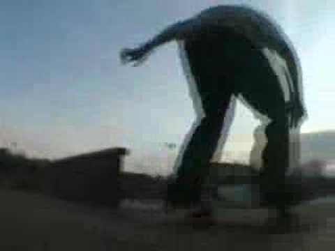 Glastonbury skatepark Gutek.