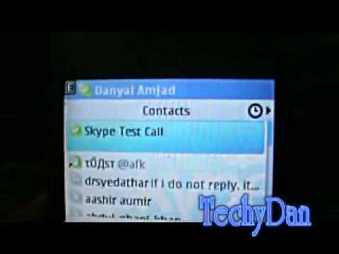 Skype for the nokia c3