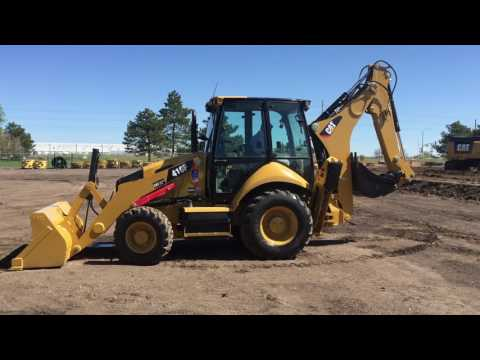 CATERPILLAR BACKHOE LOADERS 416F 4WD equipment video 15szVV4ybOY