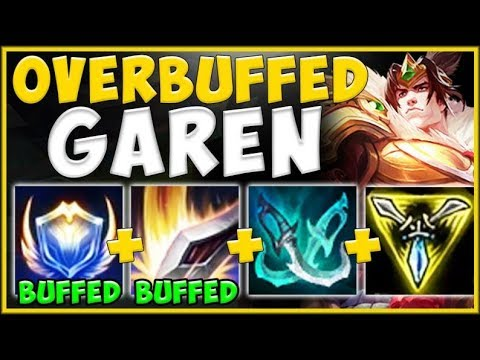 WTF?? WHY IS RIOT STILL GIVING GAREN MORE BUFFS?? GAREN TOP SEASON 10 GAMEPLAY! - League of Legends