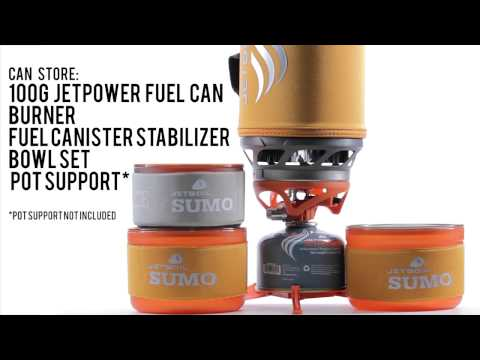 The Jetboil Sumo w/Bowl Kit Cooking System
