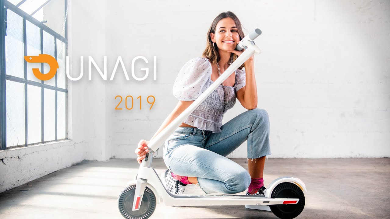 Unagi - The Model One E500 Dual Motor Electric Scooter - Black