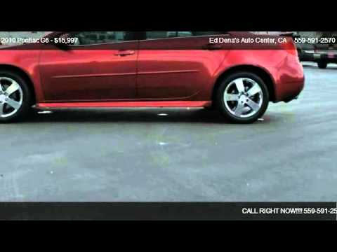 2010 Pontiac G6 GT - for sale in Dinuba, CA 93618