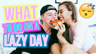 What To Do On A Lazy Day! | Mylifeaseva and Alex Hayes by MyLifeAsEva