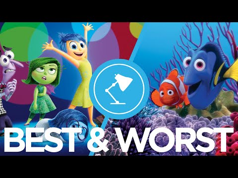 The Best & Worst Pixar Movies Ranked : Movie Feuds ep143