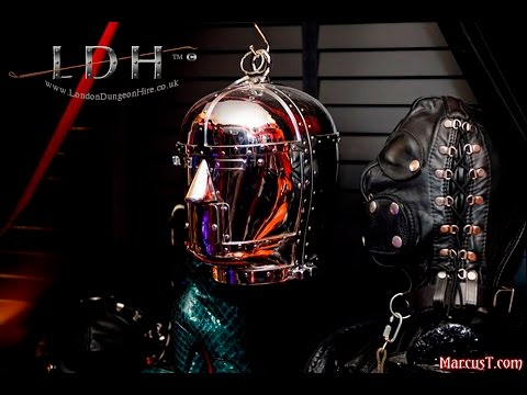 Encased in Steel – No escape mind bondage at London Dungeon Hire
