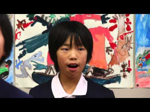 『春や昔』20141222松山市立素鵞小学校5年3組