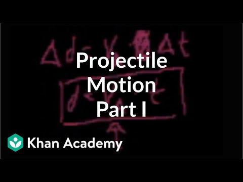 Projectile Motion Part 1 Video Khan Academy
