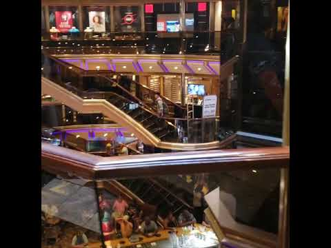 Carnival Triumph Cruise - Fun Shops -Sky Box-Casino-