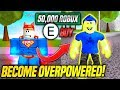 Download Lagu I Spent 50,000 ROBUX To Become OVERPOWERED in SUPER POWER TRAINING SIMULATOR! (Roblox) Mp3 Free