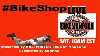BikeShop LIVE streams every Saturday at 10am ET http://www.youtube.com/bikemanforu Knowledgeable entertainment from...