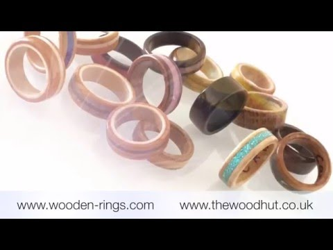 Wooden Rings & Wooden Gifts by The Wood Hut