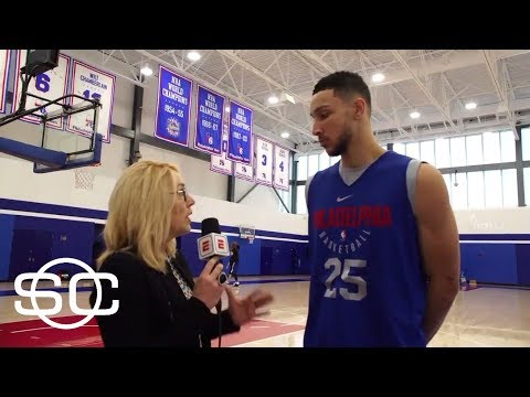 Ben Simmons on why he's seeing success this season, Joel Embiid relationship | SportsCenter | ESPN
