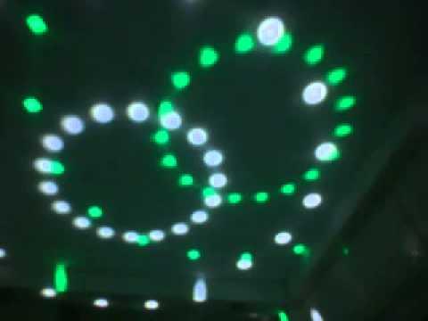 Đèn led pha lê thông dụng cho các sân khấu, phòng trà