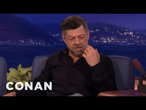 Andy Serkis - CONAN Highlight: The master of motion capture acting improvises a