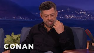 Andy Serkis Channels Gollum & Caesar The Ape