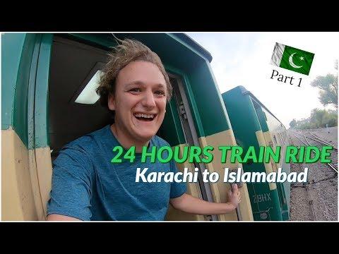 24 HOURS TRAIN RIDE IN PAKISTAN (Karachi to Islamabad) [Pakistan Vlog #10]