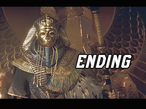 Assassin's Creed Origins Curse of the Pharaohs Walkthrough Part 14 - ENDING + FINAL BOSS