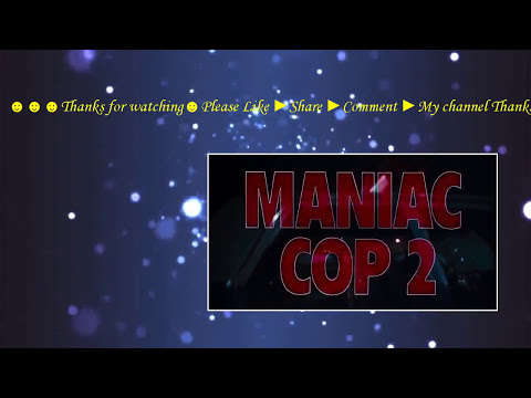 Maniac Cop 2 (1990) With Claudia Christian, Michael Lerner, Robert Davi Movie