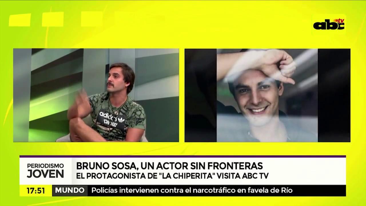 Bruno Sosa Bofinger, actor sin fronteras