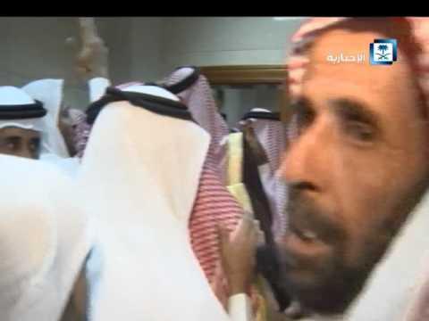 #فيديو ::  ولي العهد يزور مصابي #تفجير_الحرم_النبوي