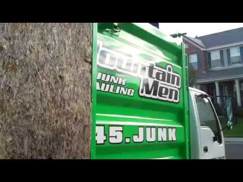 video:Mountain Men Junk Removal Also Donates and Repurposes!