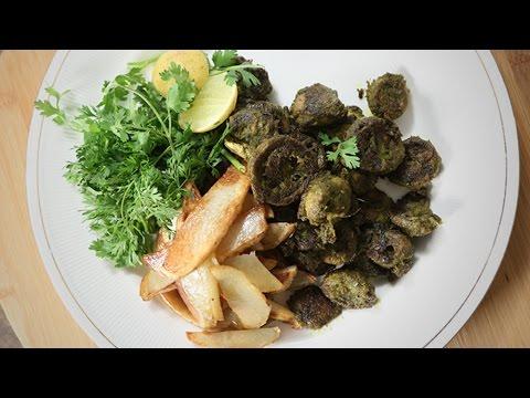Cafreal Recipe   Mushroom Cafreal   Goan Delicacy   The Bombay Chef – Varun Inamdar
