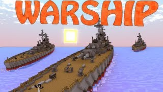 Minecraft Archimedes Ships Mod&Small Boats Mod Showcase - Pirate Ships!