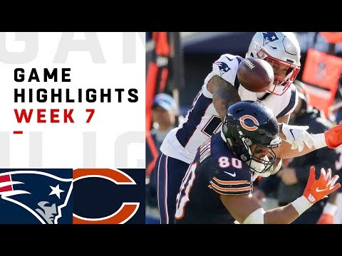 Patriots vs. Bears Week 7 Highlights | NFL 2018_Best videos: Sport