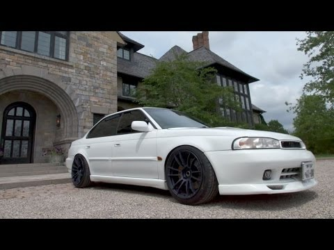 Twin-Turbo Subaru Legacy: How JDM Can You Go? — /TUNED