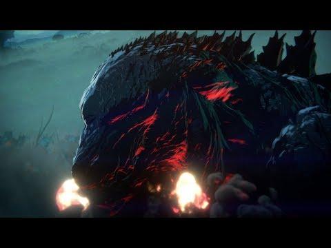 """""""جودزيلا"""" ينطلق إلى آفاق جديدة في فيلم رسوم متحركة (إعلان تشويقي)"""