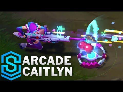 Caitlyn Giả Lập - Arcade Caitlyn