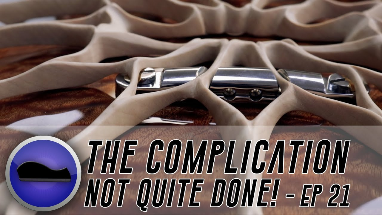 The Complication 21 – the Most Complex electric Guitar Ever?
